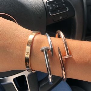 Cartier PINK gold 18k love bracelet/bangle